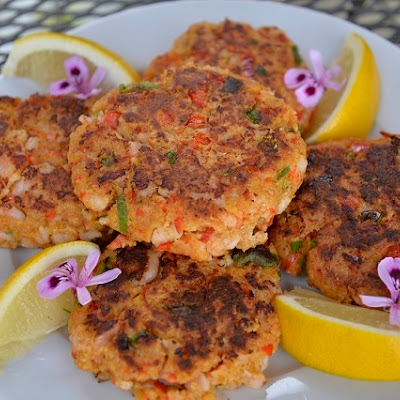 Oregon Bay Shrimp Cakes
