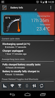 Screenshot of Gauge Battery Widget 2015