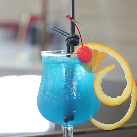 my blue curacao by Anthony Reynolds - Food & Drink Alcohol & Drinks ( curacao, blue, alcoholic, drinks )