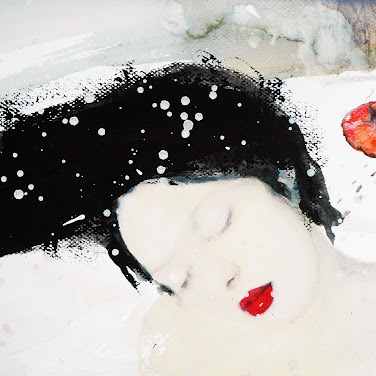 Grafika: Pierwszy śnieg - Agata Kosmala