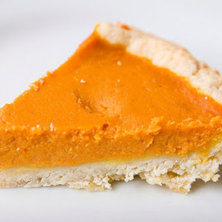 Ginger Custard Pumpkin Pie