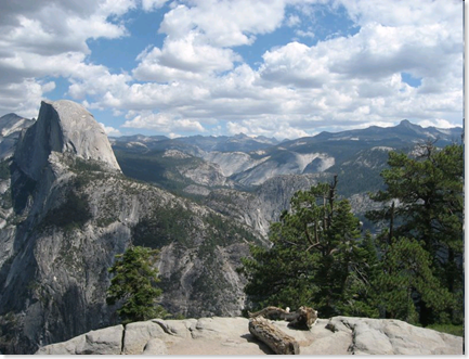 Yosemite, Glacier Point, Half Dome