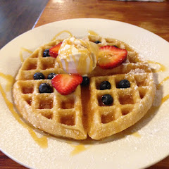 Amazing gluten free waffles