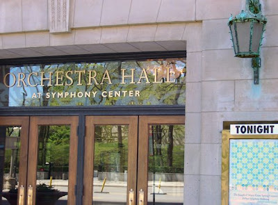 Though The Orchestra Hall
