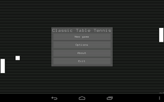 Screenshot of Classic Table Tennis