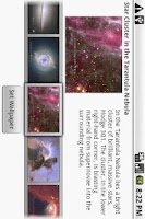 Screenshot of Hubble Wallpaper