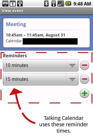 Talking Calendar Free