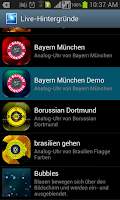 Screenshot of FC Bayern Live Wallpaper Demo