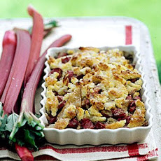 Apple-Rhubarb Brown Betty