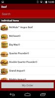 Screenshot of my macca's®