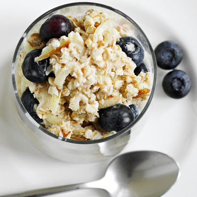 Apple & Blueberry Bircher