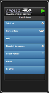 driverAPP - screenshot