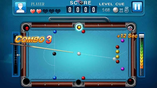 how to hit a curve ball in pool