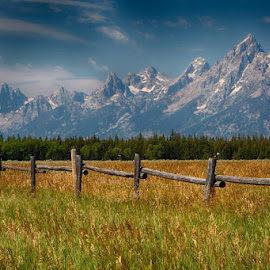 GRANDTETON-5.jpg by Jim Kuhn - Landscapes Prairies, Meadows & Fields