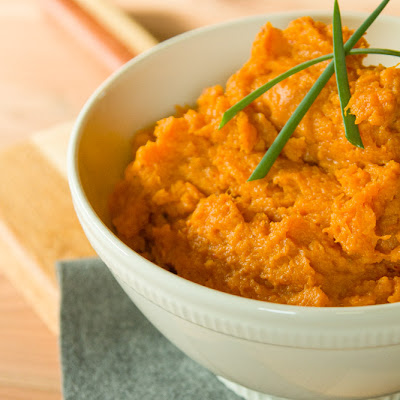 Chipotle - Maple Mashed Sweet Potatoes