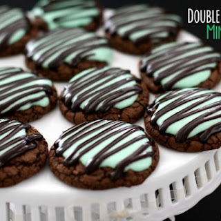 DOUBLE FUDGE MINT COOKIES