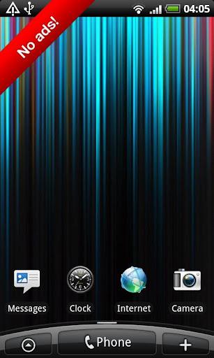 無料个人化Appのカラーストライプの壁紙を生きる|記事Game