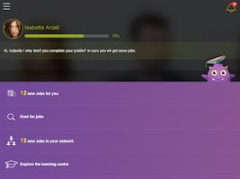 Screenshot of Monster Jobs
