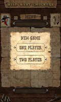 Screenshot of Wild West Checkers