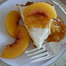 Chilled Peach Pie