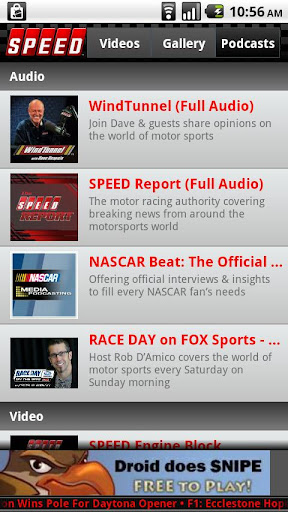 The Official SPEED Channel App For PC