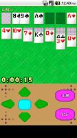 Screenshot of モバイルソリティア