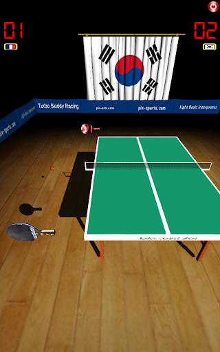 Pro Tennis On Line Ping Pong - screenshot