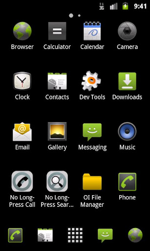 legacy-launcher for android screenshot