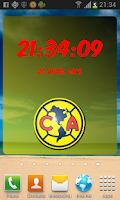 Screenshot of Digital Clock Club America