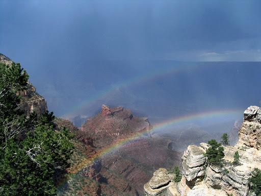 Carol Voigts double rainbow