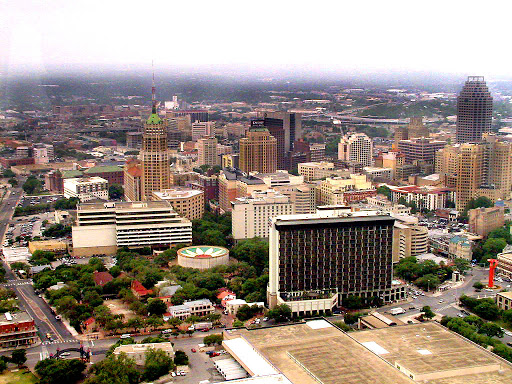 a view of San Antonio from the Tower of the Americas. From The Zen of Traveling Retired: The Karma of Traveling With Family