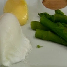 Asparagus Spears And Poached Eggs