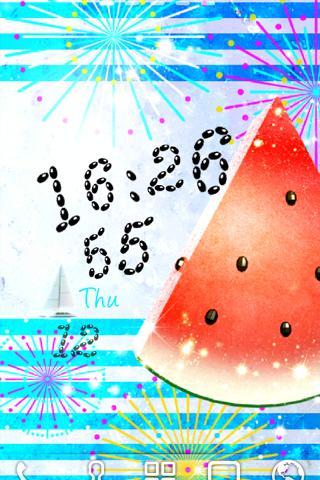 Watermelon LiveWallpaper Trial