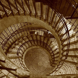 San Fran Stairs by Jen Pezzotti - Buildings & Architecture Architectural Detail