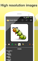 Screenshot of Emoji Library