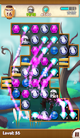 Screenshot of Jewels Ninja