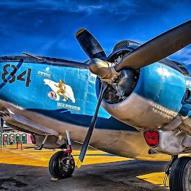 Attu Warrior by Ron Meyers - Transportation Airplanes