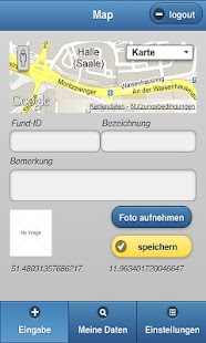 UmGeoApp - screenshot
