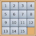 15 puzzle - Logic game icon