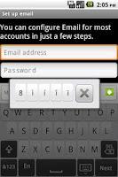Screenshot of InterWrite Keyboard