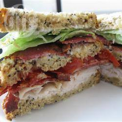 Club Sandwich Met Kalkoenfilet