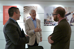 Dr Taylor meeting organisers of Design Shanghai show