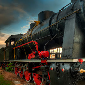 Steam Engine ... by Emil Athanasiou - Transportation Trains ( steam engine, hdr, train, emil athanasiou )