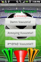 Screenshot of Vuvuzela