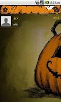 Screenshot of Handcent Halloween 2012 Skin