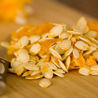 Ginger-Orange Zest Roasted Pumpkin Seeds