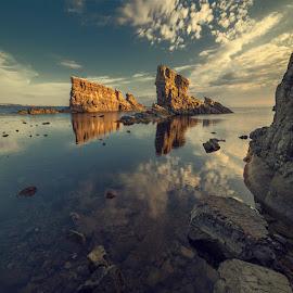 Ships by Vasil Anastasovski - Landscapes Waterscapes ( landskape, sea, ships )