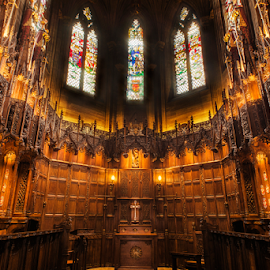 Thistle Chapel View by Don Alexander Lumsden - Buildings & Architecture Places of Worship