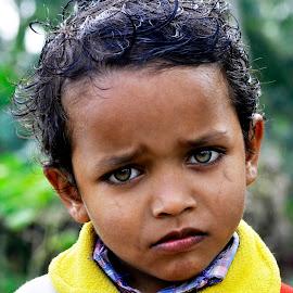 অবাক চাহুনি  by Kallyan  Mandol - Babies & Children Child Portraits ( #baby, #bangladesh, #barisal, #cute, #kushal )