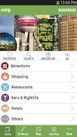 Screenshot of Shanghai Travel Guide – mTrip